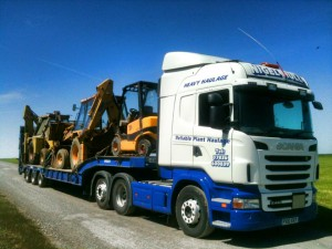 Industrial machinery haulage