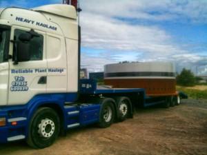 Freight haulage